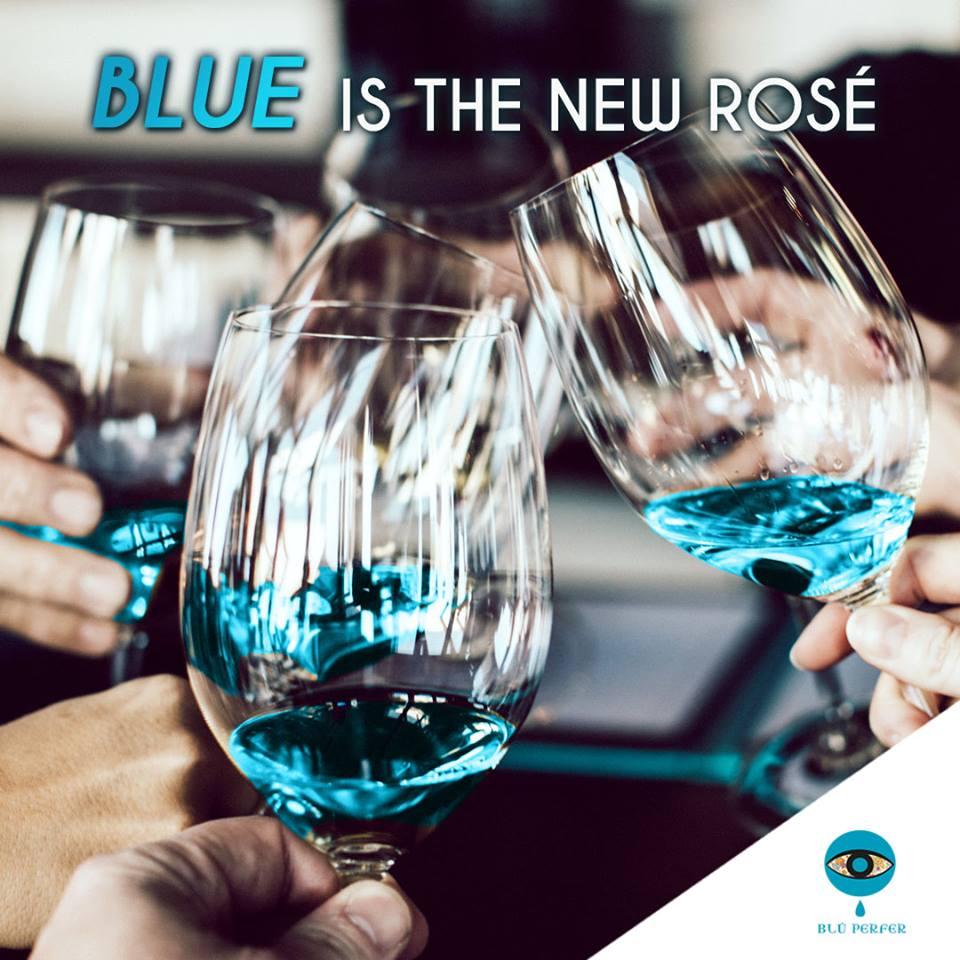 blue wine Spain desert